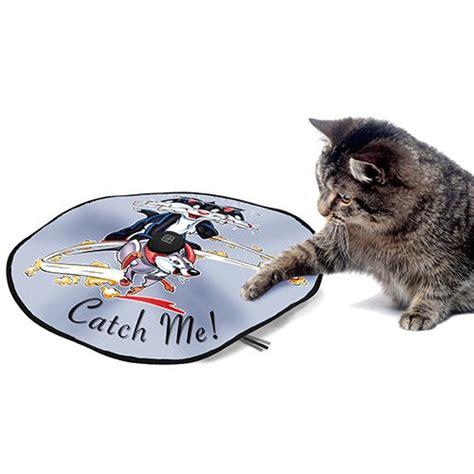 tapis de jeu d d catch me jouet dynamique pour chat