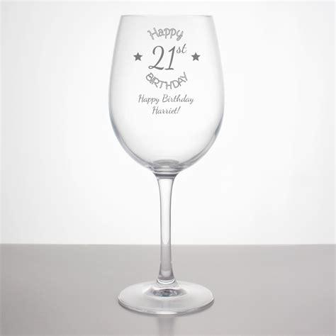 Alised St  Ee  Birthday Ee   Wine Gl