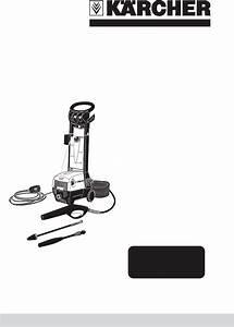 Karcher Pressure Washer K 395 M User Guide