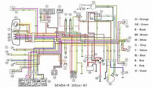 Diagram Yamaha Motorcycle Wiring Color Codes