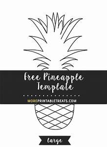 Pineapple Template  U2013 Large