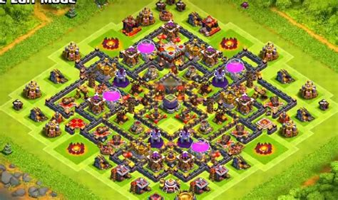 clash of clans best th10 farming base 2015 top 16 best th10 farming base 2018 new update 2 bomb clas
