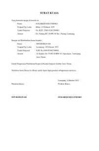 surat kuasa pengurusan pembuatan paspor