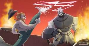 Chuck Norris Vs. Darkseid by DanSchoening on DeviantArt