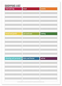 Simple Tips for Meal Planning | Printable shopping list