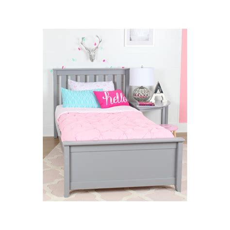 *it's a very, very attractive bed. Max & Lily - Grey - Twin Platform Bed - Trundle - Solid ...
