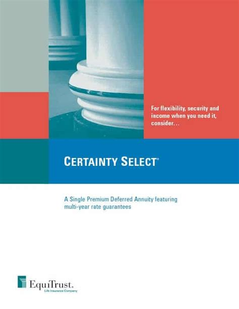 Equitrust life insurance company general information. Equitrust Certainty Select 3 Annuity | 1.20% Rate