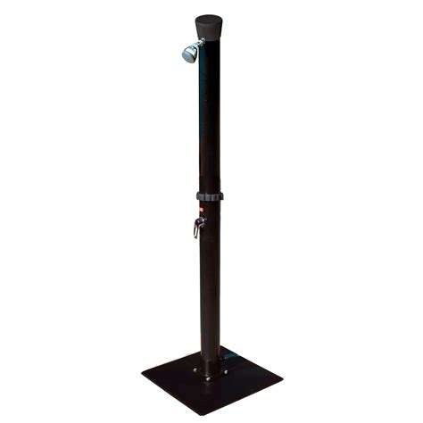 Shop Game Black Heated Outdoor Shower At Lowescom