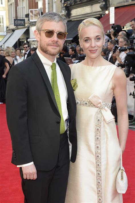 Martin Freeman And Amanda Abbington Celebrity Couples