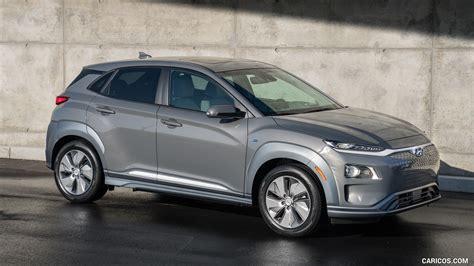 Hyundai Kona 2019 Wallpapers by 2019 Hyundai Kona Electric Front Three Quarter Hd
