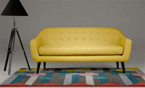 canap cuir jaune 50 idées déco de canapé