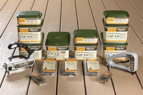 camo deck fasteners camo fastening system