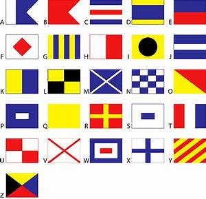 vector nautical flags public domain free download With nautical flag letters