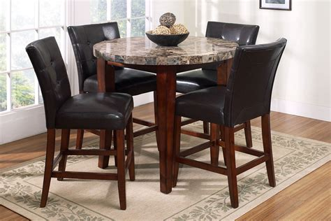 Bar Table And Stools Set Furniture, Small Round Pub Sets