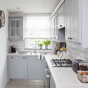 Simple And Compact L Shaped Kitchen Design Incredible Homes