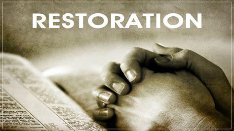 restore comforts prophetic light prophecies