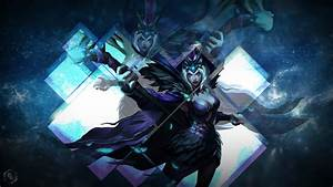 Ravenborn Leblanc Fan Art - League of Legends Wallpapers