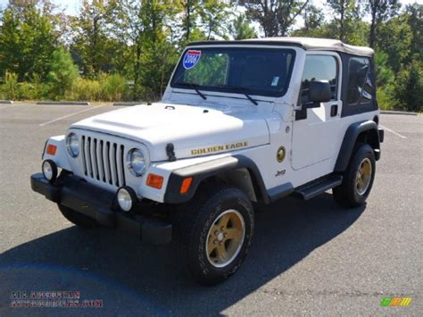 jeep golden eagle for sale 2006 jeep wrangler sport 4x4 golden eagle in stone white