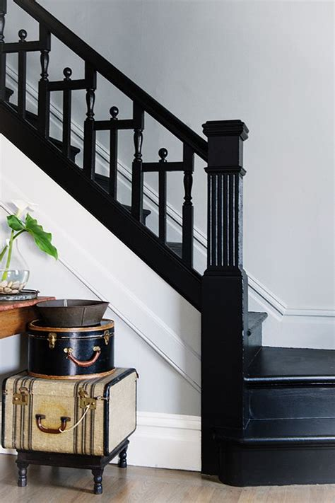 Black Staircase Banister by 17 Best Ideas About Black Staircase On Black