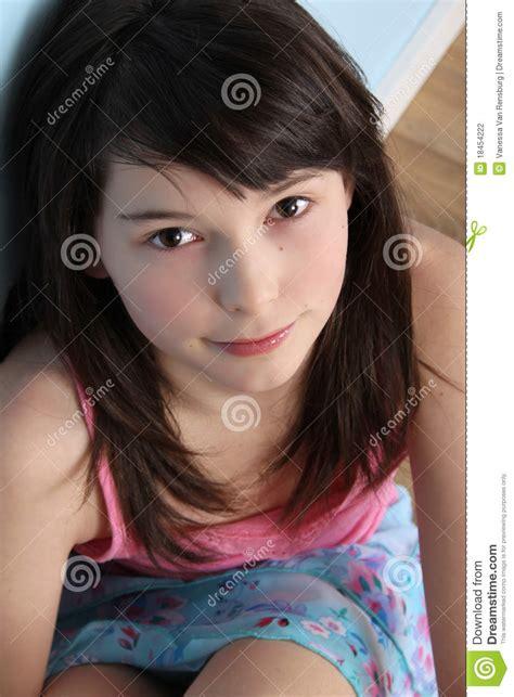Inocente Foto De Archivo Imagen De Niño Modelo Adolescente 18454222