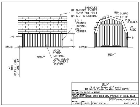 10 X 16 Shed Plans Free by Free 10 215 12 Gambrel Shed Plans X16 Storage Shed Plans