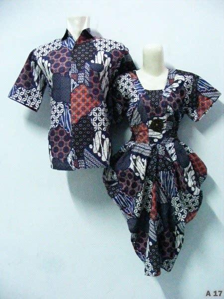 baju batik couple model anak muda modis terbaru