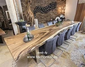 Esstisch Aus Baumstamm : esstisch aus massivholz der tischonkel ~ Yasmunasinghe.com Haus und Dekorationen