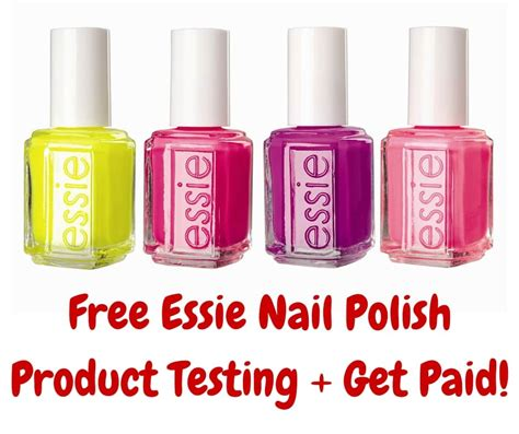 Paid Product Testing From Home by Free Essie Nail Product Testing Get Paid I Don