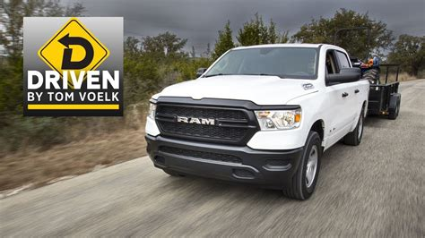 2019 Ram 1500 Tradesman 57liter V8 Review Youtube