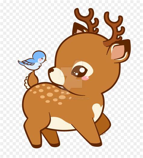 cute deer cartoon clipart reindeer red deer