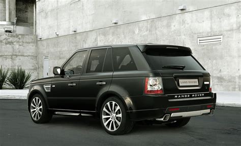 land rover debuts new 2010 range rover sport autobiography limited edition at the 2009 la auto show