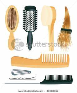 Hair Brush And Comb Clipart (44+)