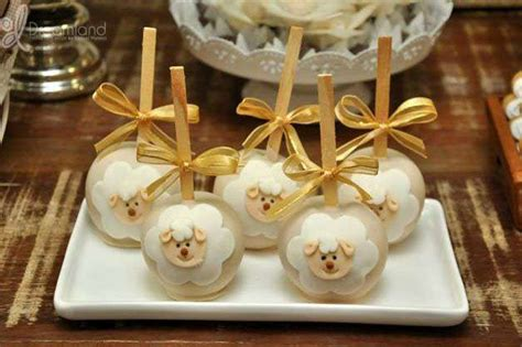 sheep lambs baptism party ideas baptisms baptism