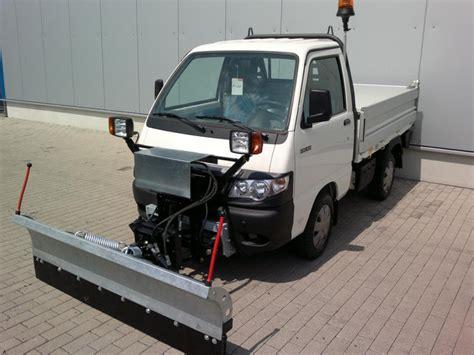 piaggio porter kipper piaggio porter diesel 5 4x4 kipper winterdienst material handling from germany for sale