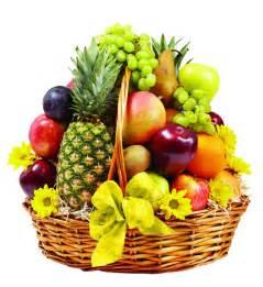fruit basket one transparent background
