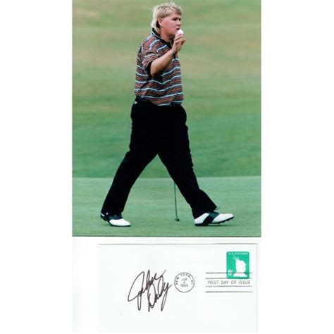 John Daly Golf legend Signed 1968 US FDC & 8x10 1995 Open ...