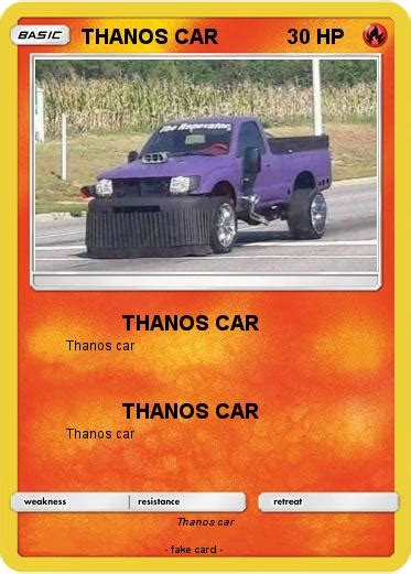 Pokémon Thanos Car 5 5  Thanos Car  My Pokemon Card