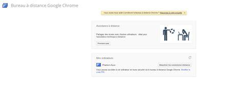 bureau distance chrome chrome remote desktop prenez le contrôle de votre pc à