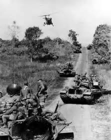 Tank Vietnam War Combat