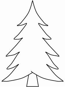 Pix For > Blank Christmas Tree Coloring   Arts and Crafts ...