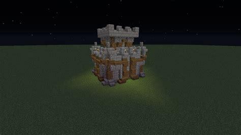 minecraft   build  tiny castle  youtube