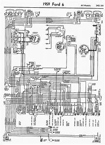 Wiring Diagram For 1959 Ford 6 All Models  U2013 Auto
