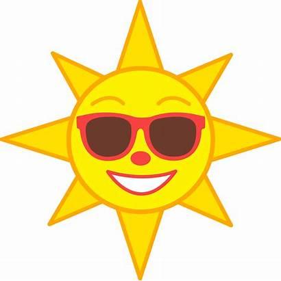 Sepasang Sun Happy Clipart Enjoy Term Kak