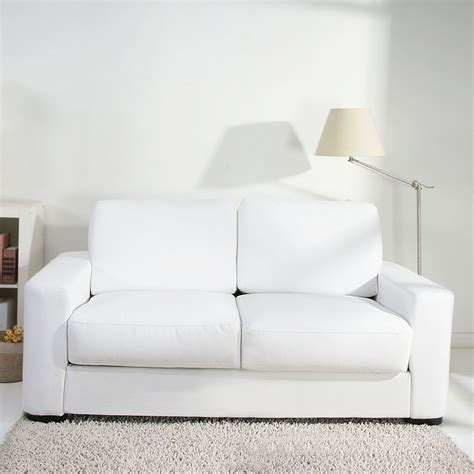 White Leather Loveseat by Small White Leather Sofa Small White Leather Sofa Avarii