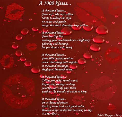 poetry repost   kisses petitemagique