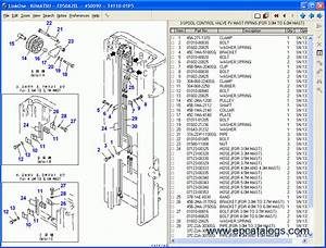 Komatsu Forklift Spare Parts Catalog Download