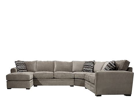 artemis ii 4 pc microfiber sectional sofa artemis ii 4 pc microfiber sectional sofa vintage raymour flanigan