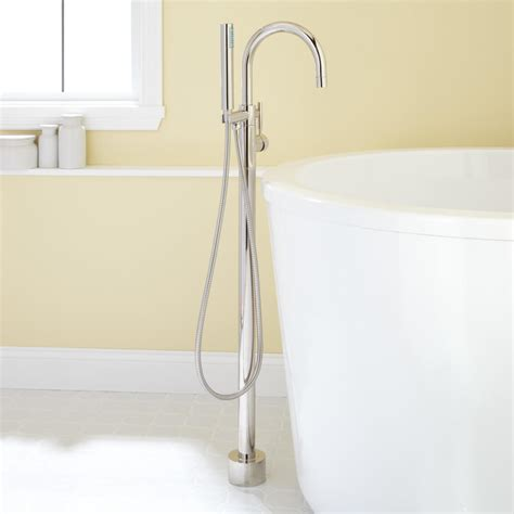 shower and tub faucets carissa freestanding tub faucet and shower bathroom