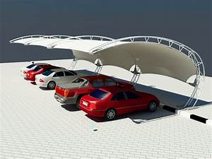 Arch Design Parking Shades