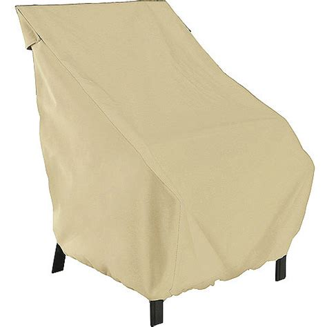 classic accessories terrazzo high back patio chair cover
